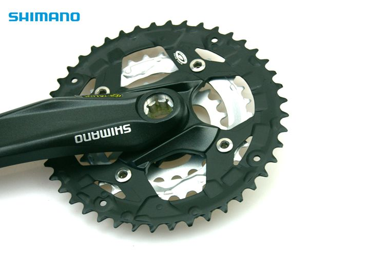 SHIMANO ALIVIO FC-M430 44//32//22T 9-Speed Crankset with BB-ES25//BB-ES300