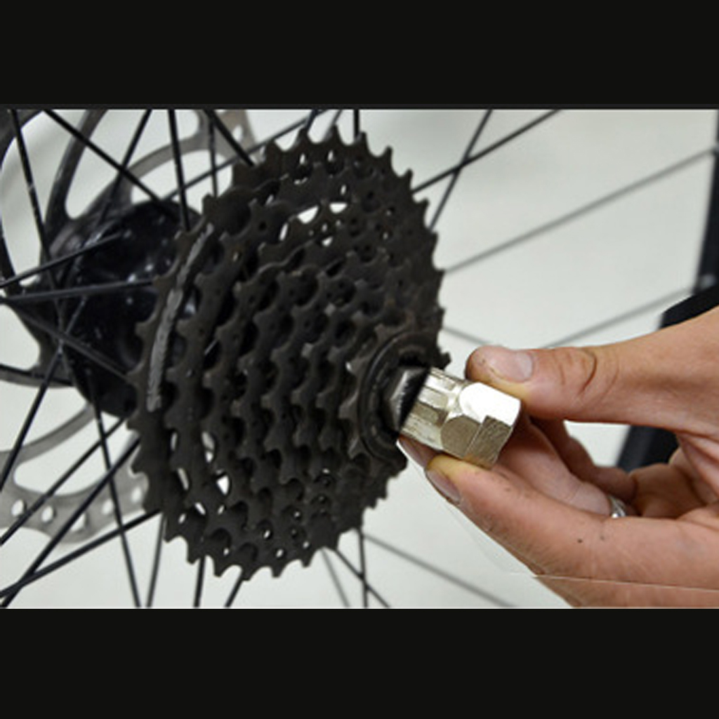 Removal Tool Bicycle with Guide Pin Cassette Lock Ring Lockring Remover