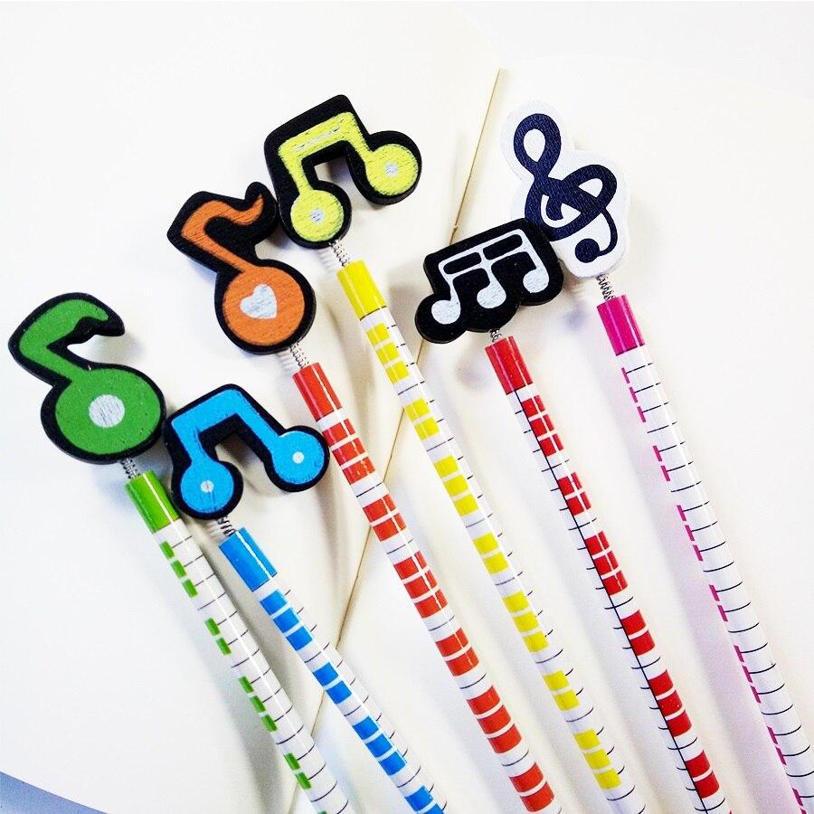 60 Pçs lote Fantasia Música Escrita Escola