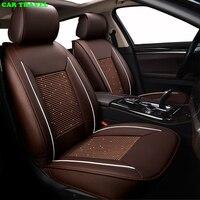 VIAGGI in AUTO di seta del ghiaccio set copertura di sede dell'automobile per Chrysler 300C golf 4 h4 ford focus 3 posti auto protector cuscino auto Interni Auto