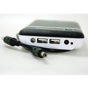 Image 2 - Портативный Регулируемый Мобильный Внешний аккумулятор 3,6 В, 5 В, 6 в, 9 В, 12 В, зарядное устройство, чехол с линией постоянного тока для камеры видеонаблюдения, сотового телефона, планшета