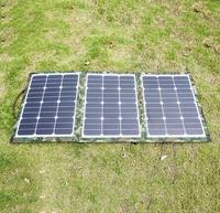 120W Foldable Solar Panel Portable Solar Charger 10A Charge Controller Outdoor Water Resistant SunPower Mono Crystalline