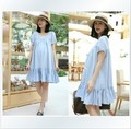 Maternity Clothing Women's Dress Thin Stretchy Slim Pregnant Jersey Dresses Pregnant woman