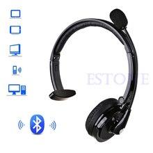 Lọc Tạp Âm Mới BH M10B Bluetooth Qua Đầu Boom Mic Tai Nghe Cho Trucker Trình Điều Khiển