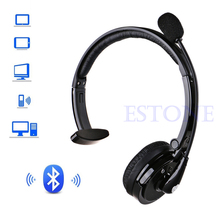 New Noise Canceling BH M10B Bluetooth Over Head Boom Mic Headset For Trucker Drivers