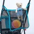 1 UNID PVC Bolsa De Malla de Almacenamiento Cochecito del Cochecito de Niño Del Carro de Bebé Accesorios Universales bolso de la carretilla TRQ0280