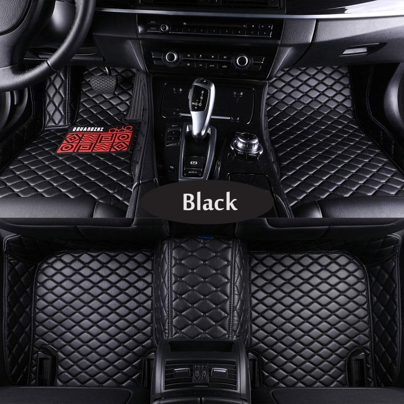 Custom fit car floor mats for Nissan altima Rouge X-trail Murano Sentra Sylphy Tiida 3D car-styling carpet floor liner carbon fiber reflective car door sills for nissan tiida sylphy sentra sunny almera teanapaladin patrol gtr car styling 4pcs