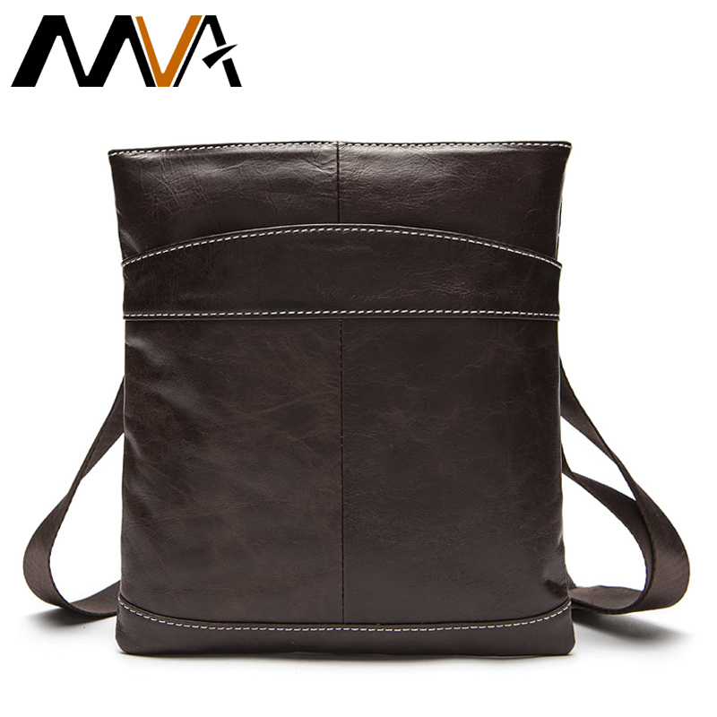 MVA Genuine Leather Men Bag Men Messenger Bags Fashion ipad Flap Crossbody Bags Small Casual Men's Leather Shoulder Bag Man mva men genuine leather bag messenger bag leather men shoulder crossbody bags casual laptop handbag business briefcase