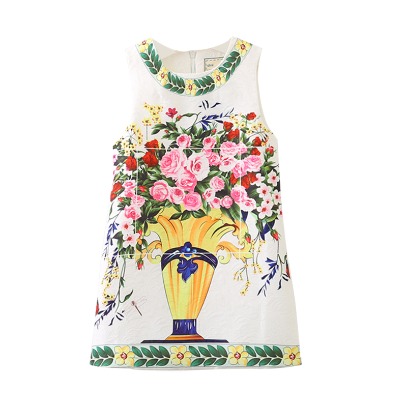 Bongawan Autumn And Winter Flower Girls Dresses for Kid Bohemian Style Princess Dress for Party Sleeveless Children Clothing cute rabbit baby girls princess dress sleeveless autumn winter dresses for toddler 2 8yrs children clothing dress with 3d carrot page 1