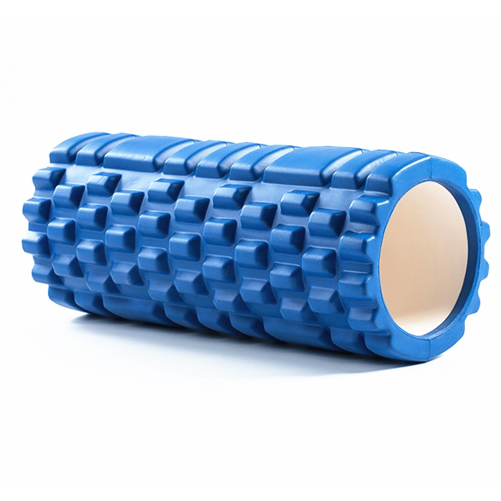 Free Shipping Column Yoga Block Fitness Equipment Pilates Foam Roller Fitness Gym Exercises Muscle Massage Roller Yoga Brick