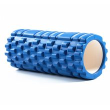 Free Shipping Column Yoga Block Fitness Equipment Pilates Foam Roller Fitness Gym Exercises Muscle Massage Roller Yoga Brick(China)