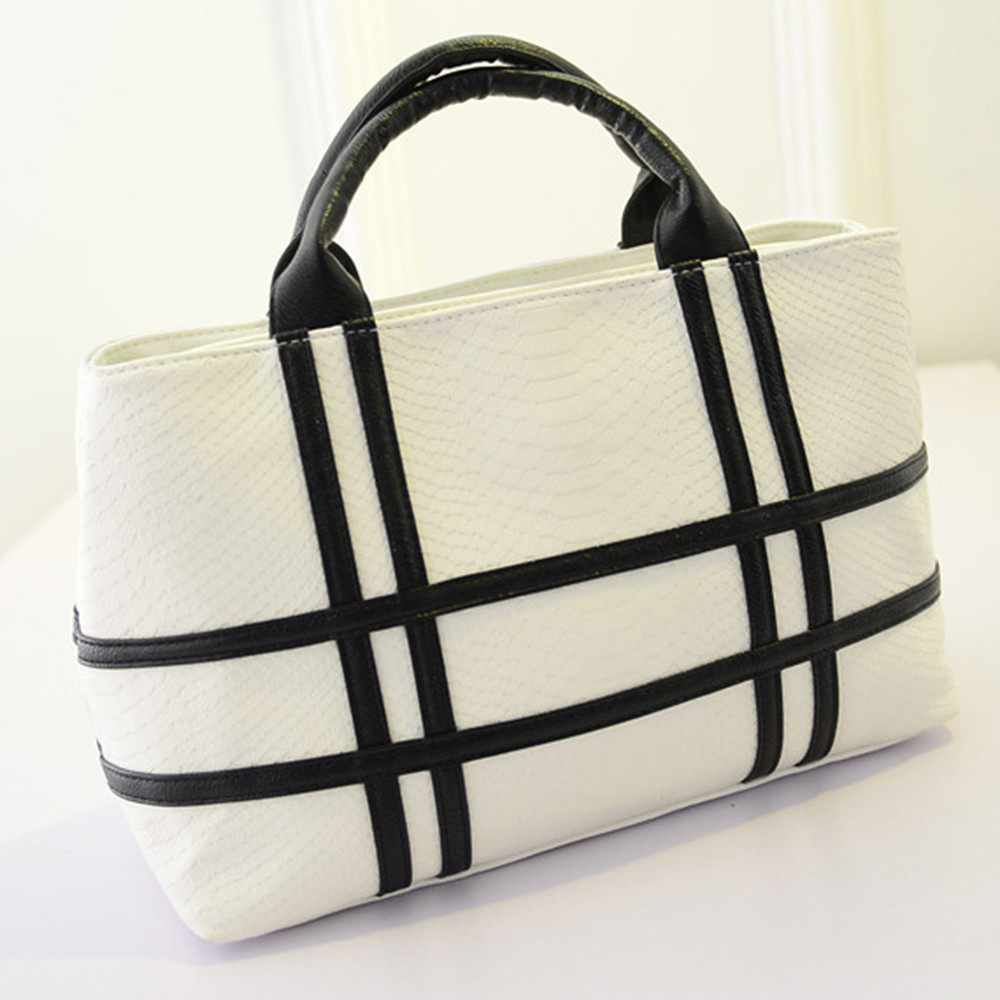 Fashion brand bag 2018 New arrival fashion temperament stripe shoulder bags women Handbags crocodile ba