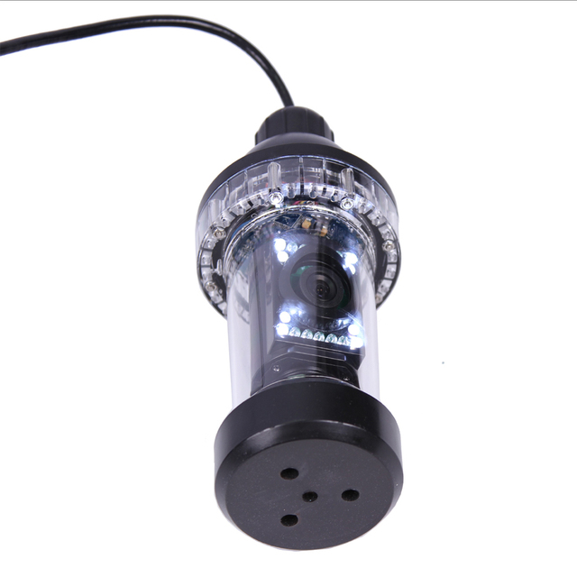 20Meters Depth Wide Angle Rotative Underwater CCD Camera 5