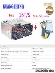 BTC minero Ebit E9.3 16TH/s BTC máquina de minar Bitcoin Asic minero 16T con la fuente de alimentación que Antminer S7 S9 WhatsMiner M3X