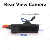 Polarlander Rear View Camera Reversing Camera Rear Switch Handle for New/Old Post X5/X1/X6 for Audi BMW Old 5/3 Series