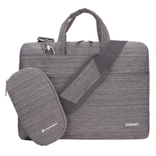 13 inch Laptop Bag Notebook Shoulder Messenger Bag Men Women Handbag Sleeve (Suit Light Gray)