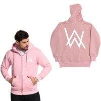 SHISHANGDEYEZI Zipper Hoodie Sweatshirt Jacket Music DJ Divine Comedy Alan Walker Faded Coat Hoodies Pullovers Brand