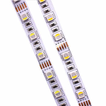 10MM PCB RGBW LED Strip 5050 DC12V Flexible Light RGB+White / RGB+Warm White 4 color in 1 LED Chip 60 LED/m 5m/lot. - Category 🛒 Lights & Lighting