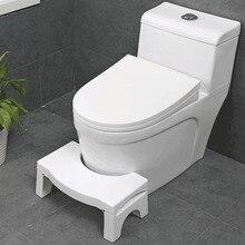Nowy kwalifikowany Squatty łazienka zagęścić składane przenośne stołki stołek do toalety krok podnóżek stosy ulga pomoc bezpieczeństwo składany stołek