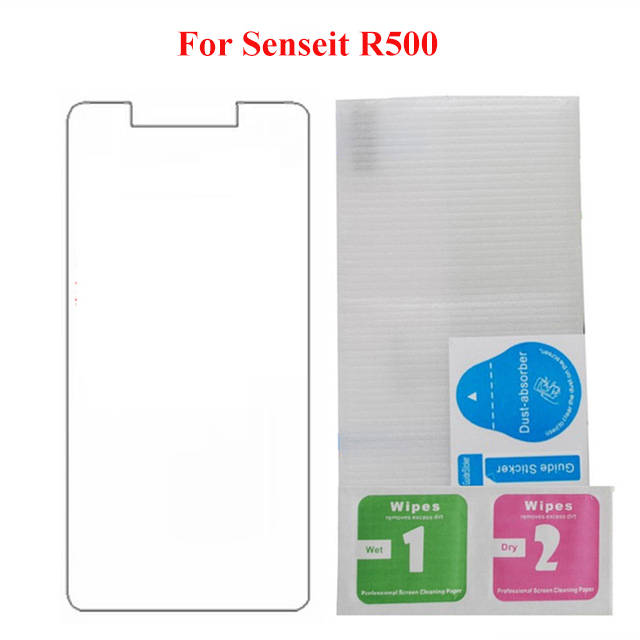 For Senseit R500 Glass Tempered Glass Screen Protector 2.5 9H Safety Protective Film for Senseit R500 R 500 Glass