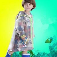 The Future Of Tribal Camouflage Children Raincoat Boy Girl Baby Kindergarten Students Children Bag A Raincoat