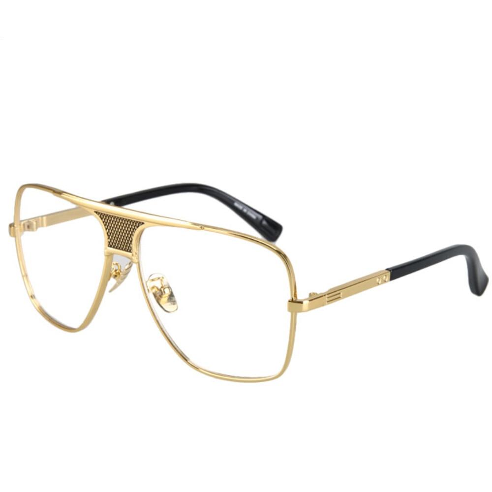 2017 Vintage Oversized Sunglasses Men Luxury Brand ...
