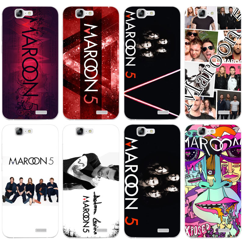H130 Maroon 5 Transparent Hard Thin Skin Case Cover For Huawei P 6 7 8 9 10 Lite Plus Honor 6 7 8 4C 4X G7