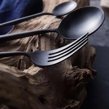 Hot Sale 4 Pcs european Dinnerware knife 304 Stainless Steel Western Cutlery Kitchen Food Tableware Dinner Set drop shipping