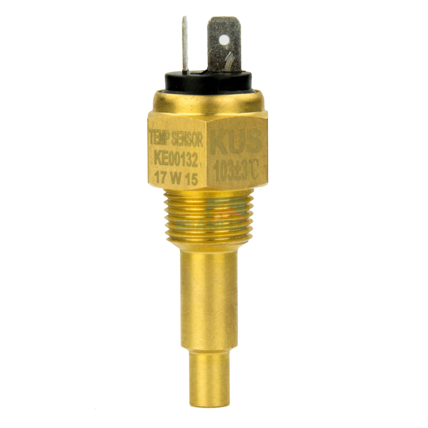 "NEW Kus Temp Sender Water 1//8/"" 27 NPT 120 from Blue Bottle Marine"