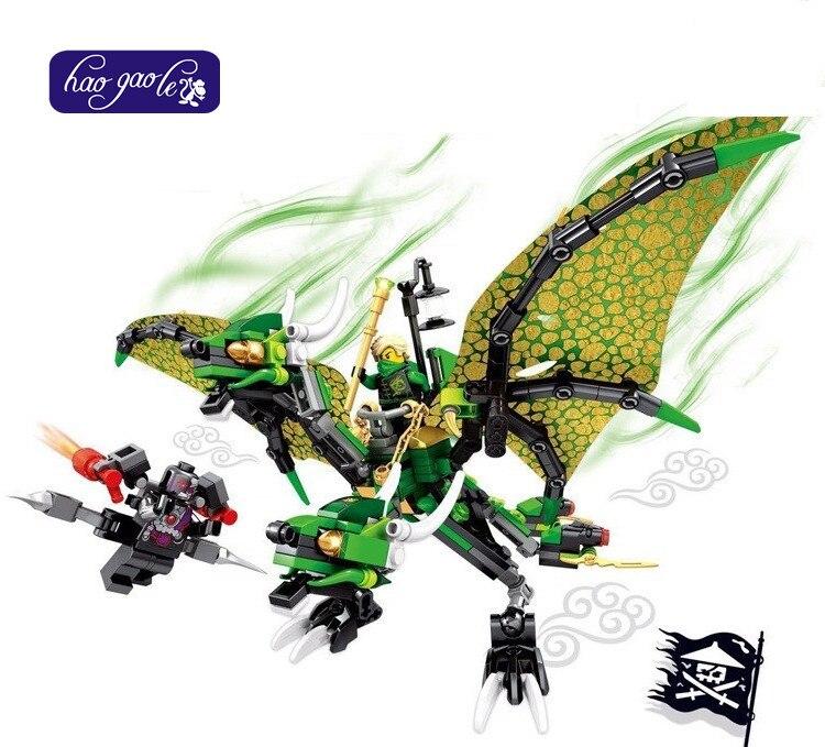 SY810/811 Ninjagoes flying dragon Blocks Building bricks children Gift baby Toys