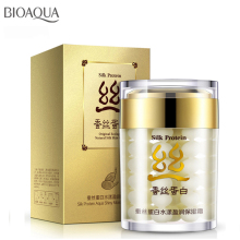 Collagen protein moisturizer face cream anti wrinkle age acne whitening bioaqua silk skin care ageless products