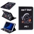 De alta qualidade da moda pintura tampa da caixa de livro para samsung galaxy tab a A6 2016 T585 T580 T580N 10.1 polegada Tablet + Stylus + Film