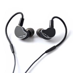 Image 5 - 2019 LZ Z04A באוזן אוזניות דינמי כונן HIFI IEM מתכת אוזניות Earbud עם נתיק לנתק MMCX כבל MMCX להסרה