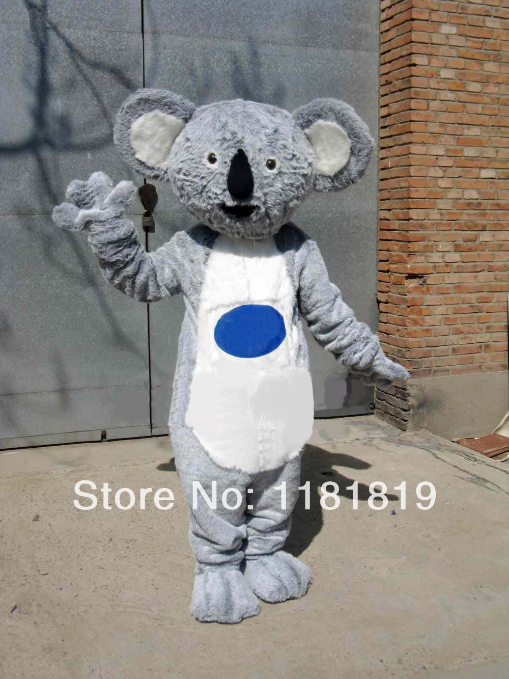 mascot koala Mascot costume hot sale Halloween cartoon character fancy dress carnival costume outfit suit