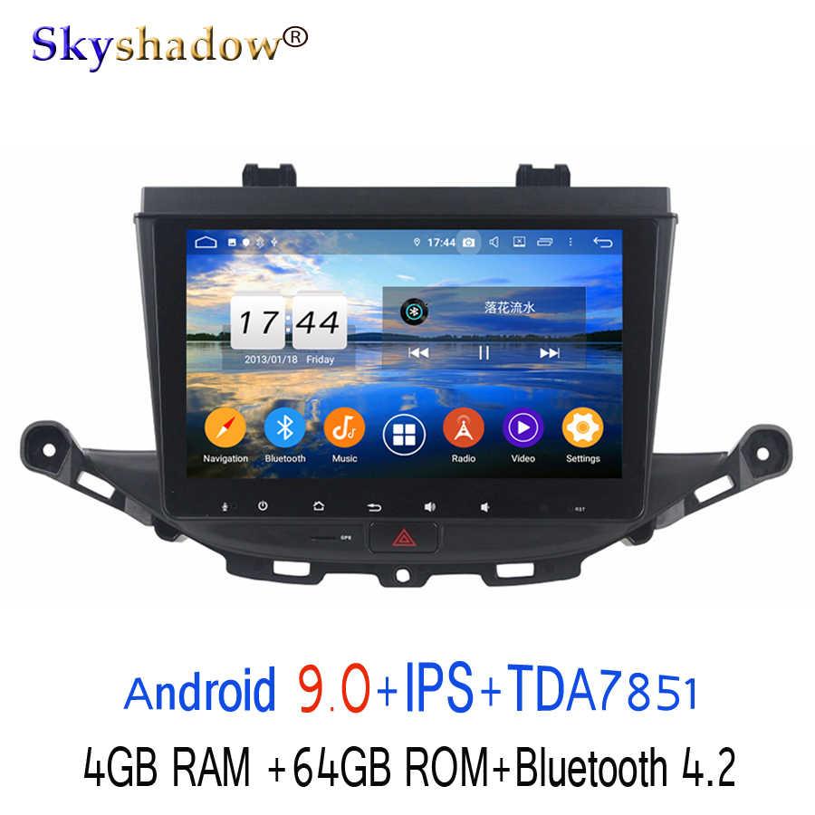 "HD 9 ""Android 9.0 Para Opel ASTRA K 2016 GB ROM 2017 GB RAM 64 4 8 Núcleo Carro DVD Player GPS Glonass mapa RDS Radio Bluetooth wi-fi 4.2"