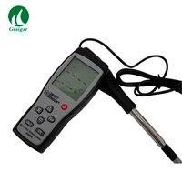 SMART SENSOR термоанемометрический цифровой провода Анемометр тестер ветер Скорость метр ветер Скорость диапазон 0 ~ 30 м/с AR866A