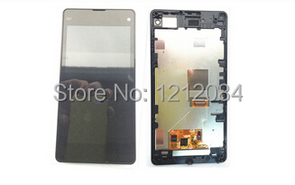 NEW Lcd Display Screen+Touch Glass Digitizer+Frame Assembly For Sony Xperia Z1 Compact Z1 mini D5503 Pantalla Free shipping