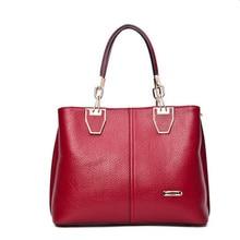 New Fashion Handbags Women PU Leather Shoulder Bags Elegant Women Bag Totes Large