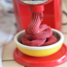 220V Household Electric Ice Cream Machine Maker Frozen Fruit Ice Cream Machine 3 Color Available EU/AU/UK/US Plug цена и фото