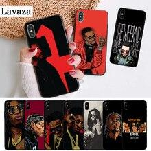 Lavaza Migos Coque Silicone Case for iPhone 5 5S 6 6S Plus 7 8 11 Pro X XS Max XR
