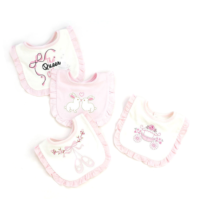 [Chaonono] Newborn Soft BandanaToddler Triangle Scarf Infant Burp Cloths Saliva Towel Ba ...