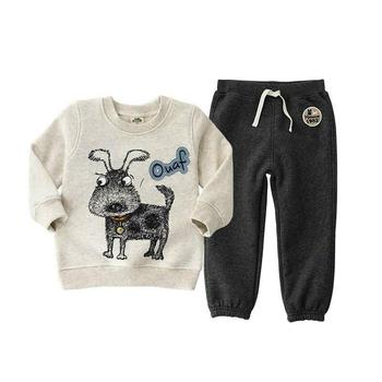 2019 fashion bear clothing sets for kids clothes ,3-6Y hoodies T-shirt for boys clothes Apring autumn casual children's clothing 1