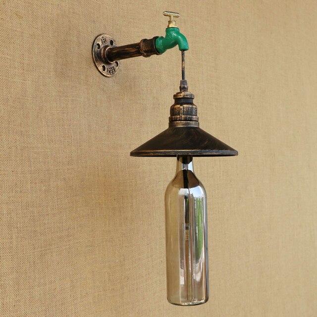 Retro Wall Lights Loft Style Home Lighting Design Wall Scone Iron ...