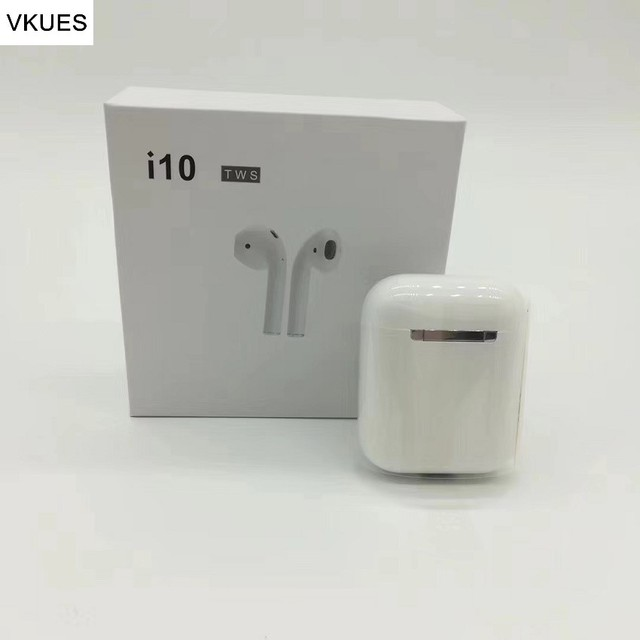 US $62 89 6% OFF|Touch control i10 TWS Mini pods Wireless Bluetooth5 0  Earphone Earbuds With Wireless Charging Box Siri Summon Sport Headsets-in