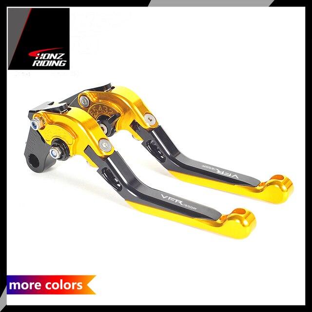 For Honda VFR1200F Lever VFR 1200 1200F 2010 2016 Motorcycle Adjustable Foldable Brake Clutch Levers