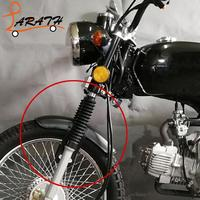 LARATH Motorcycle Front Fender And Motorcycle Rear Fender For CG125 Vintage Motorcycle Accessories MCT1311