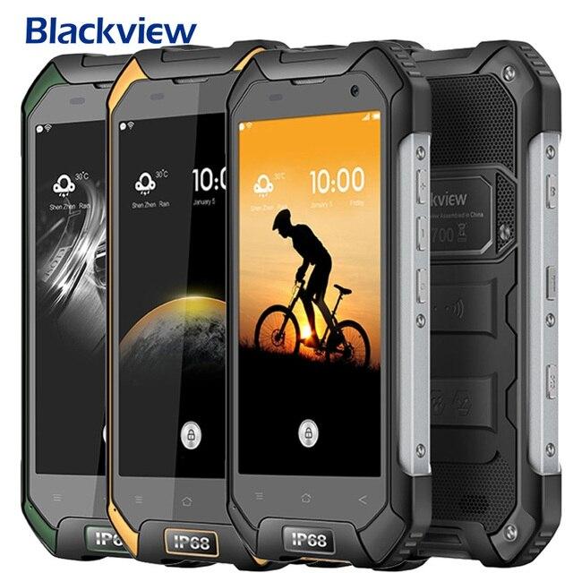 Unlocked Blackview BV6000S Android 6.0 Smartphone 4.7 inch IPS Screen 2GB RAM 16GB ROM MTK6735 Quad Core 1.3GHz Dual SIM 4G OTG