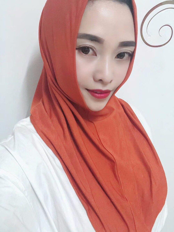 Apparel Accessories Efinny Muslim Hijab Scarf One Piece Sleeves Arm Cover Shrug Bolero Haya Multi Color
