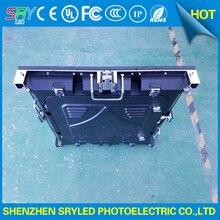 Черный Цвет Шкафа Открытый Водонепроницаемый 576 мм х 576 мм SMD3535 Открытый P6 литья Алюминия Светодиодный/панели