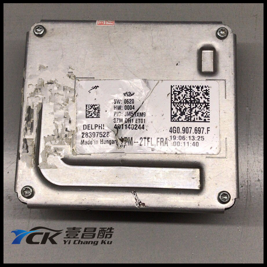 1PC YCK Original 4G0.907.397.F LED Driver LED Headlight Control Unit 4G0907397F 28397528 401140244 (Genuine and Used)